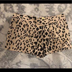 Tibi New York leopard shorts